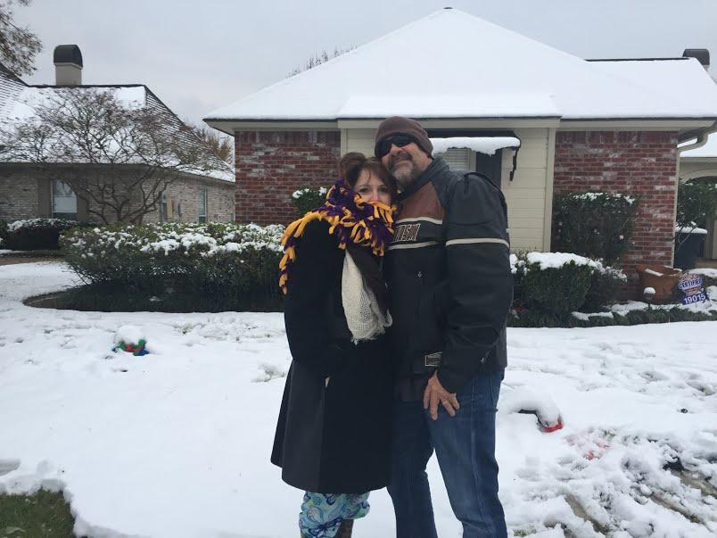 Craig Sandy in snow
